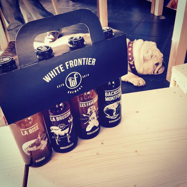 The White Frontier beer collection